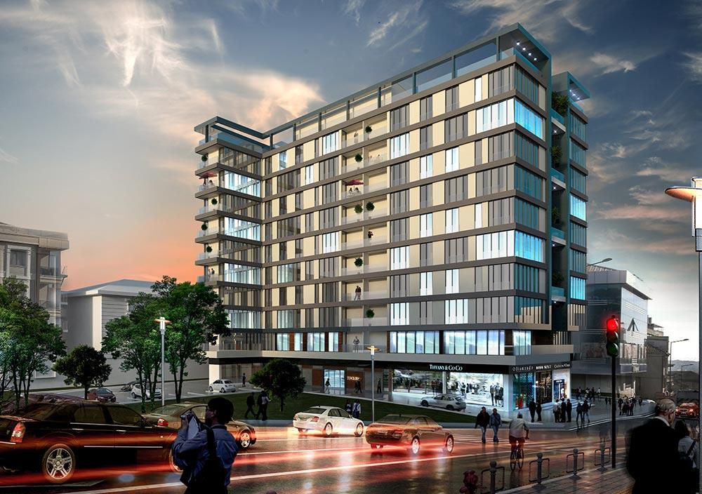شقق للاستثمار في مركز اسطنبول